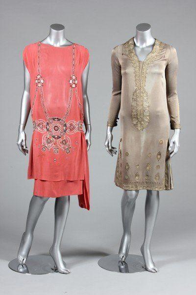 Evening dresses, ca. 1926; KTA