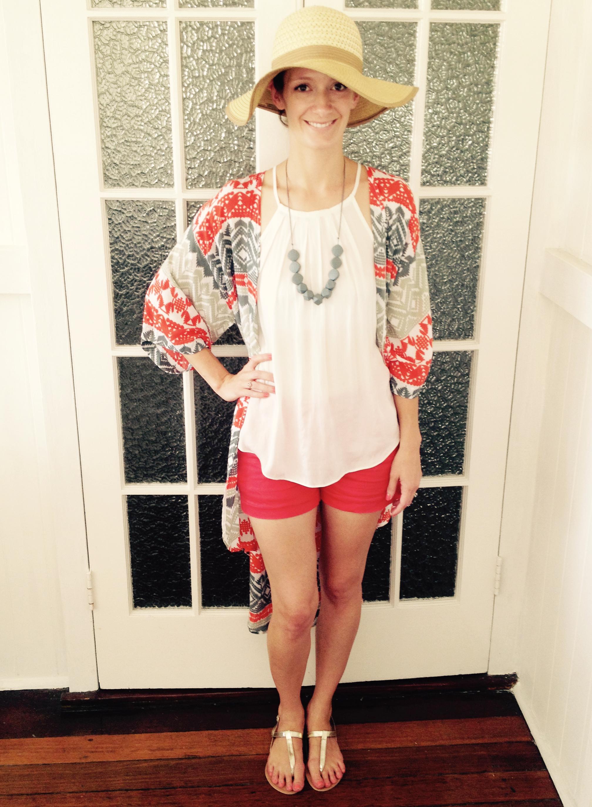 03ed59fb0ee Mummy Couture    bayleigh s bohemian kimono - red -