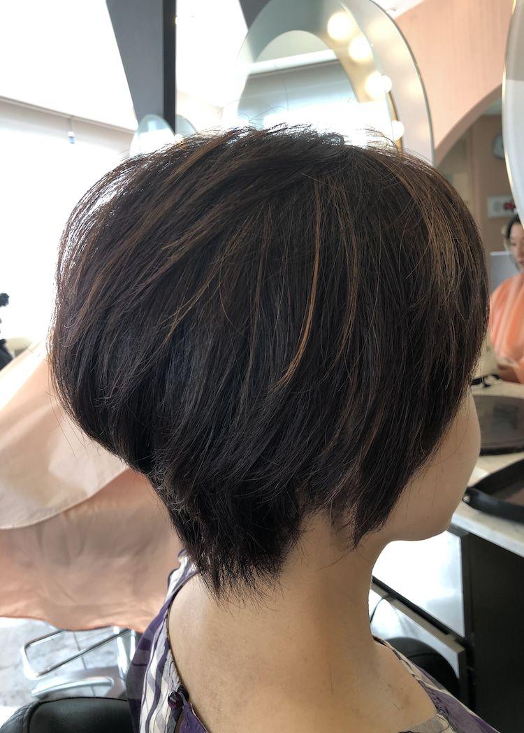 40代50代60代ヘアスタイル髪型 50代髪型 50代ショート 50代