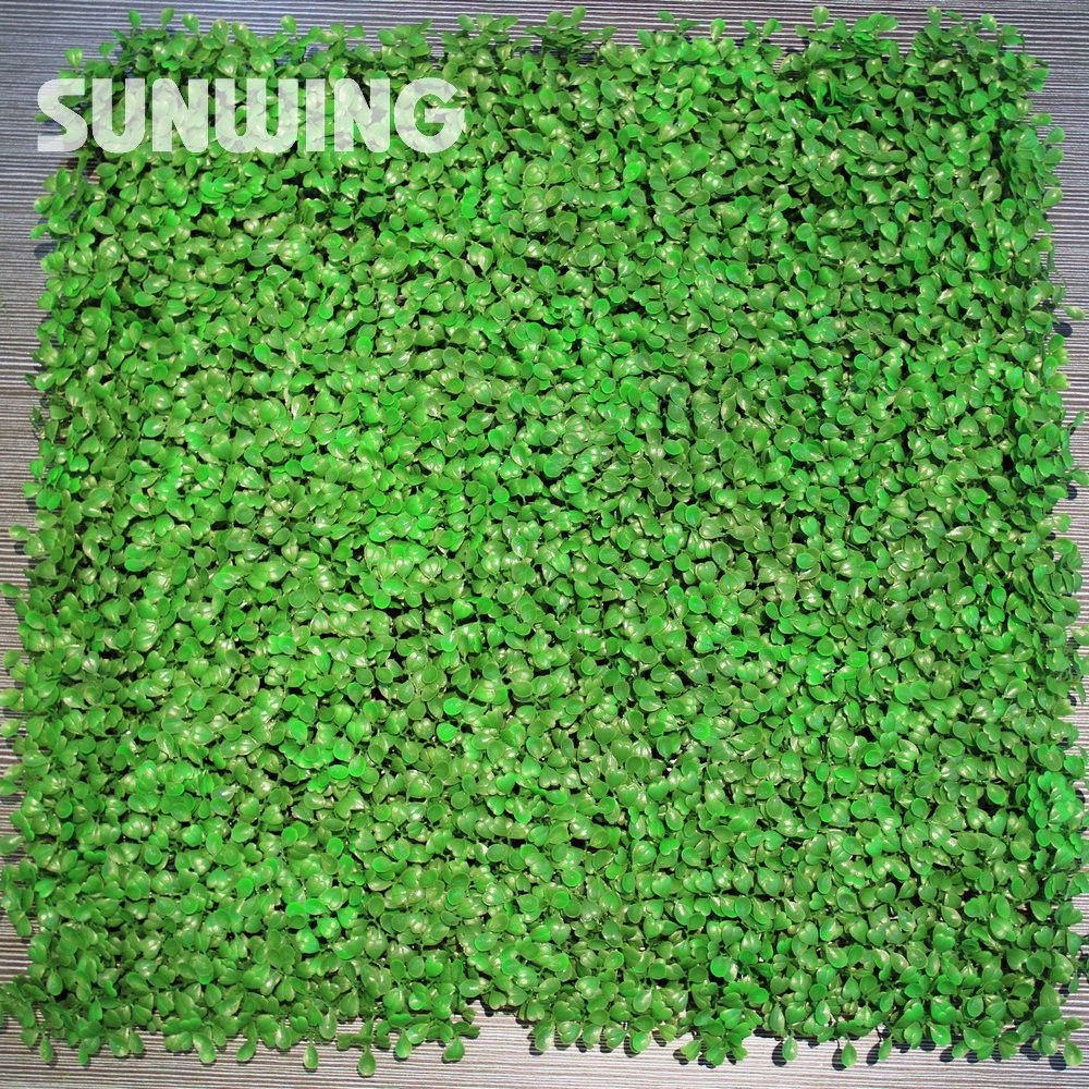 48pcs 25x25cm Artificial Boxwood Hedges Panels Outdoor Plastic Garden Ivy  Fence Decorative Plant Fence Mat Garden