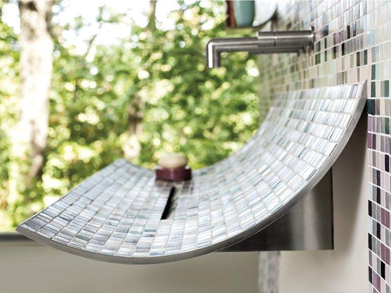 Wall Mounted Washbasin Skin By Lago Design Daniele Lago
