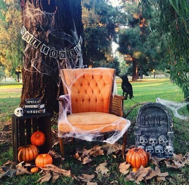 Halloween Mini Session Set Up by Me YareslySantana on