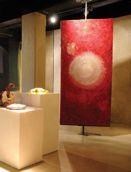 Gobbetto resin showroom milan italy showroom pinterest for Gobbetto resine
