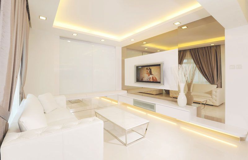 Living Room Tv Feature Wall Mirror Interior Design Pinterest Tv Feature Wall Living