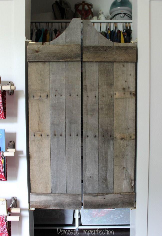 diy swinging door
