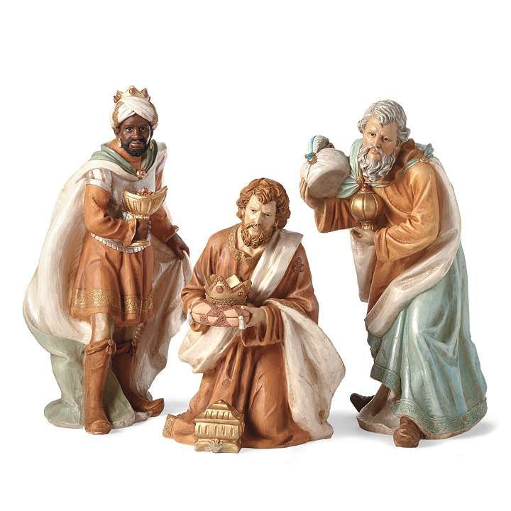 Outdoor Nativity Set Of Three Kings The Art Christmas