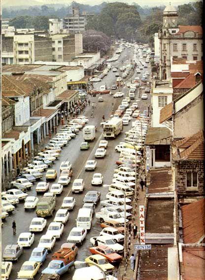 """Nairobi, Kenya; """"Darkhana/Town"""" (ca. 1980)"""