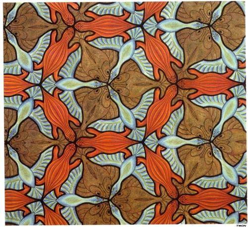 Symmetry Drawing - M.C. Escher
