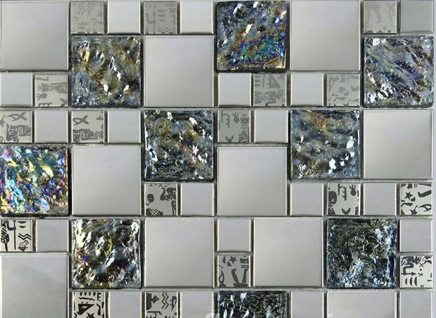 Modern Wall Design And Flooring Ideas, Metal Tiles