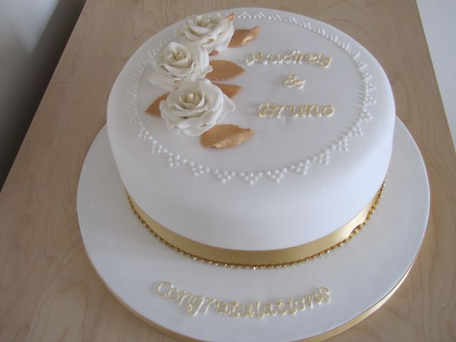 50th Wedding Anniversary Cake 50th Anniversary Party Pinterest