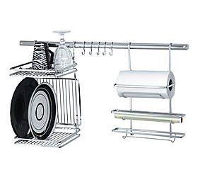 Organizador para cozinha luna lux - 80cm