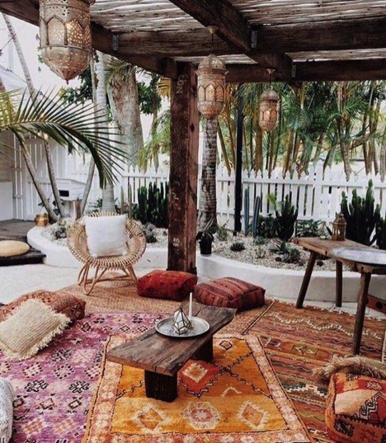 Boho Garden Bloxburg Backyard Ideas