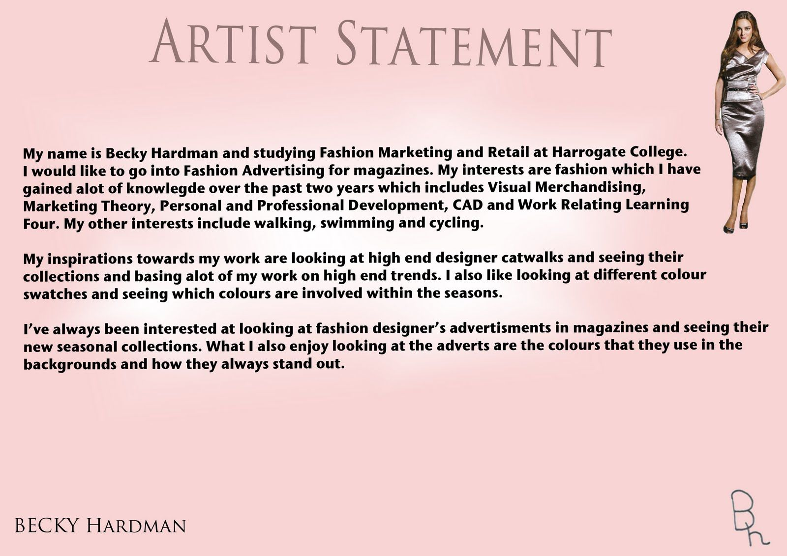 Image result for artist statement examples Artist