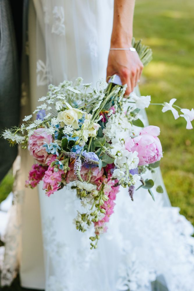 Wild Flower Wedding Bouquet - English Country Garden Wedding Of ...