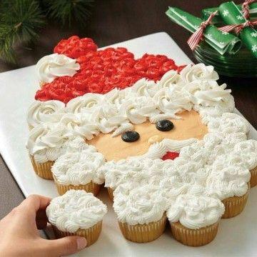 Ideas De Como Hacer Tortas Decoradas De Navidad Cupcakes De Navidad Postres Navideños Cup Cakes Navideños