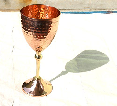 4c3583fa4f19 STREET CRAFT 100 Authentic Copper Moscow Mule MugCopper Moscow Mule Mugs  Cups 1 16 oz Hammered Goblet    You can find out more details at the link  of the ...