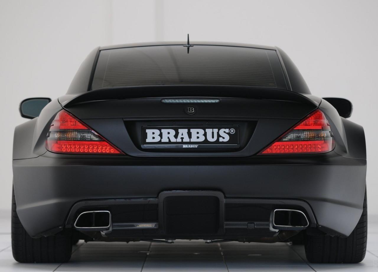 2010 brabus mercedes benz sl65 amg black series