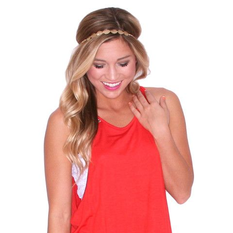 Lucky Girl Headband | Impressions Online Women's Clothing Boutique