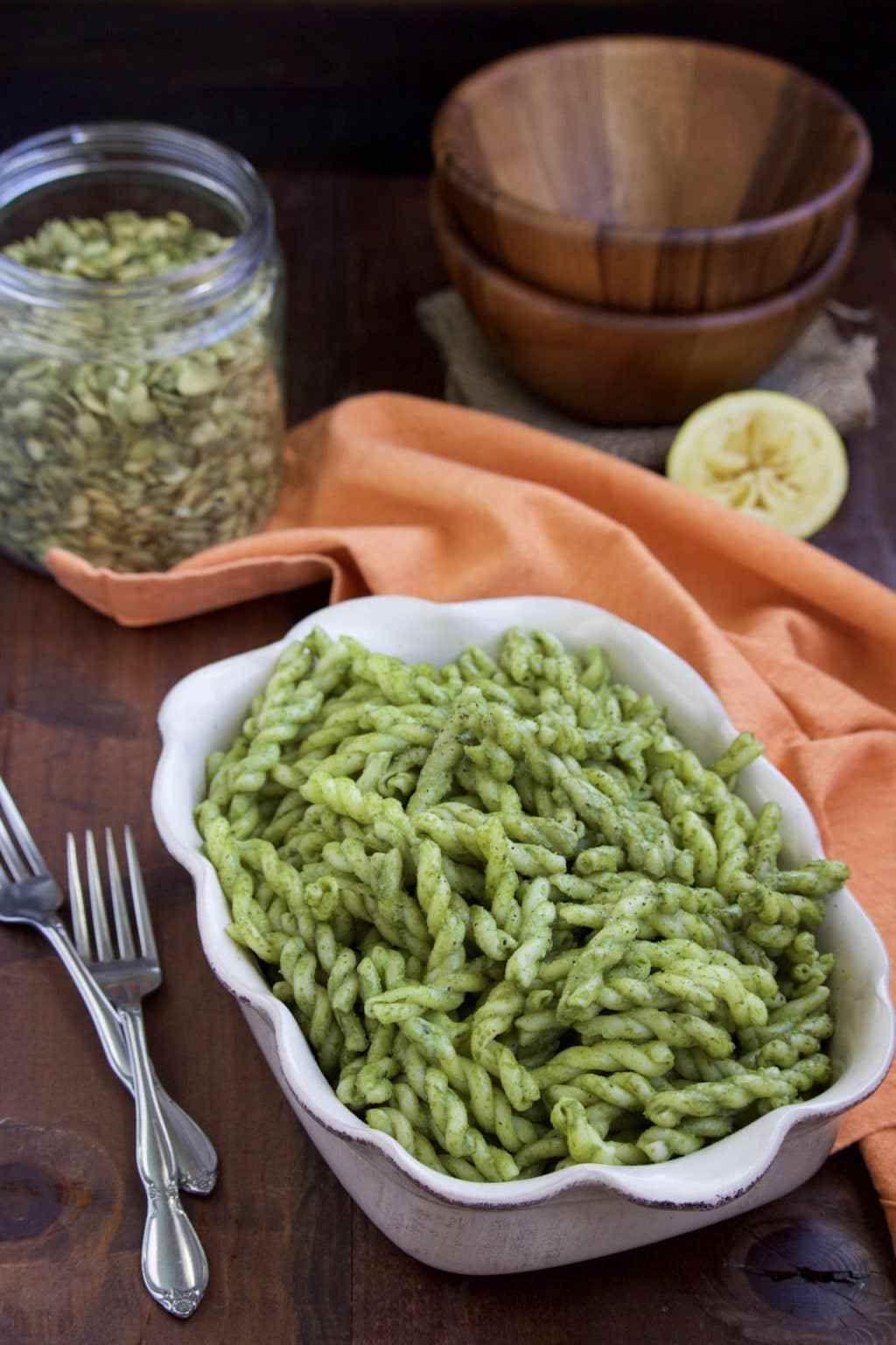 Vegan Basil Pesto Sauce