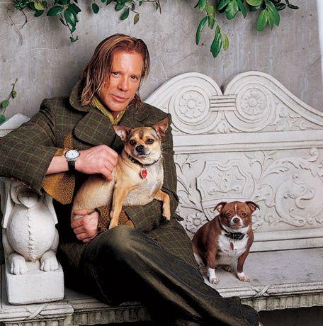 Dice Rourke: A veces estas solo, y todo lo que tienes es tu perro, significan el mundo para mi