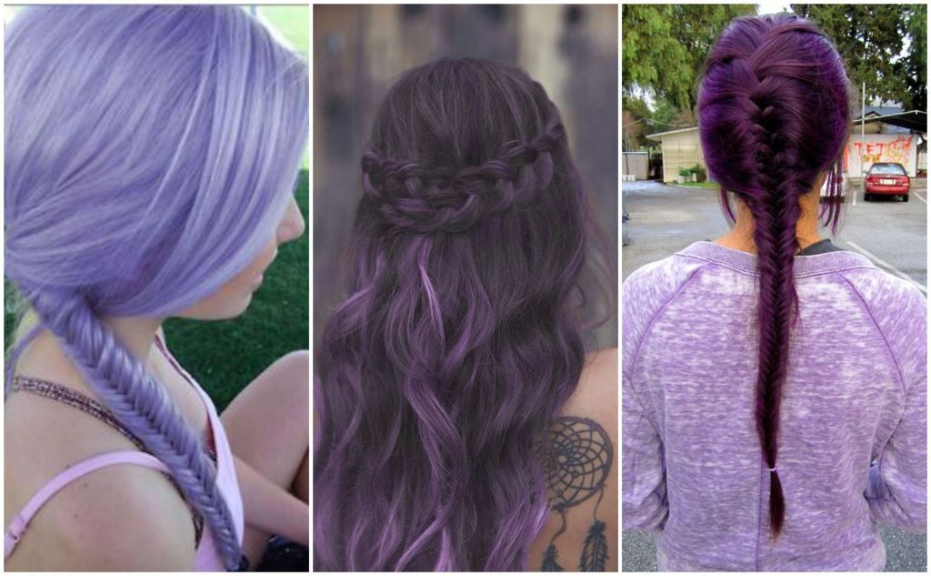 Purple Hair Colors That Actually Look Good
