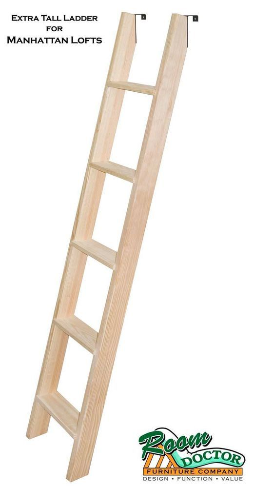 Add An Extra Tall Ladder To The Manhattan Loft Or Bunk Bed