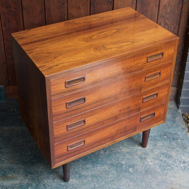 Danish Mid Century Dresser Cabinet Book Matched Rosewood Chest Of Drawers Table Mid Century Dresser Drawer Table Cabinet