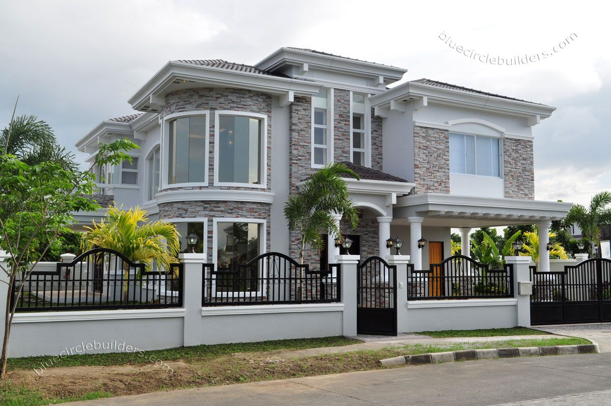 2 Storey Modern Small Houses With Gate Of Philippines ...