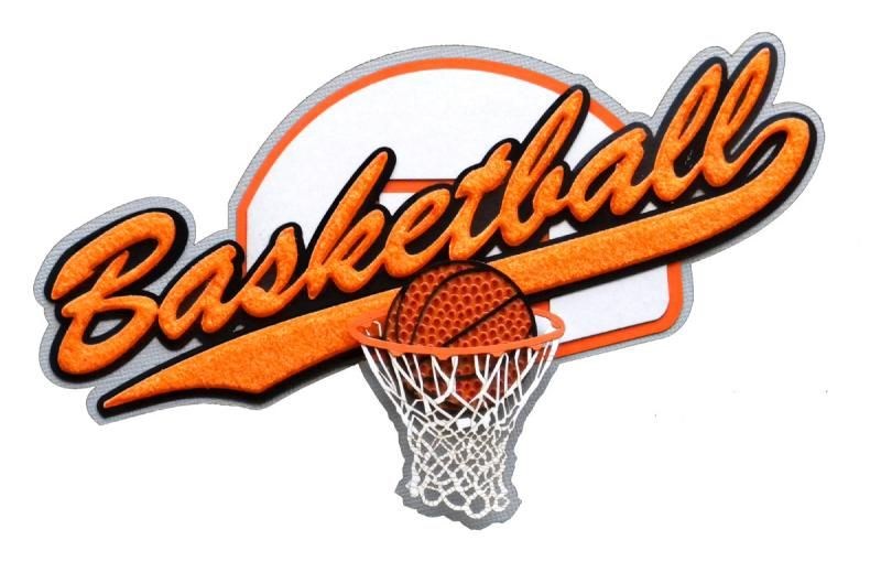 paper wizard old school sports titles collection die cuts basketball school sports. Black Bedroom Furniture Sets. Home Design Ideas