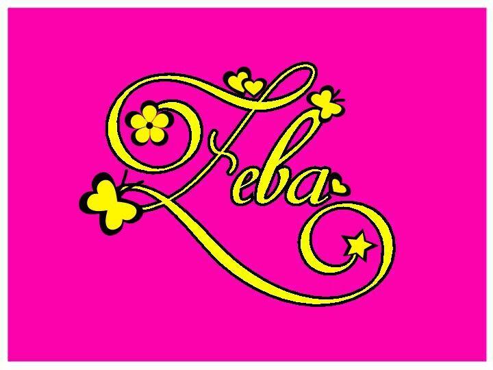 Zeba Name Wallpaper Name Wallpaper Quilling Letters Name Art
