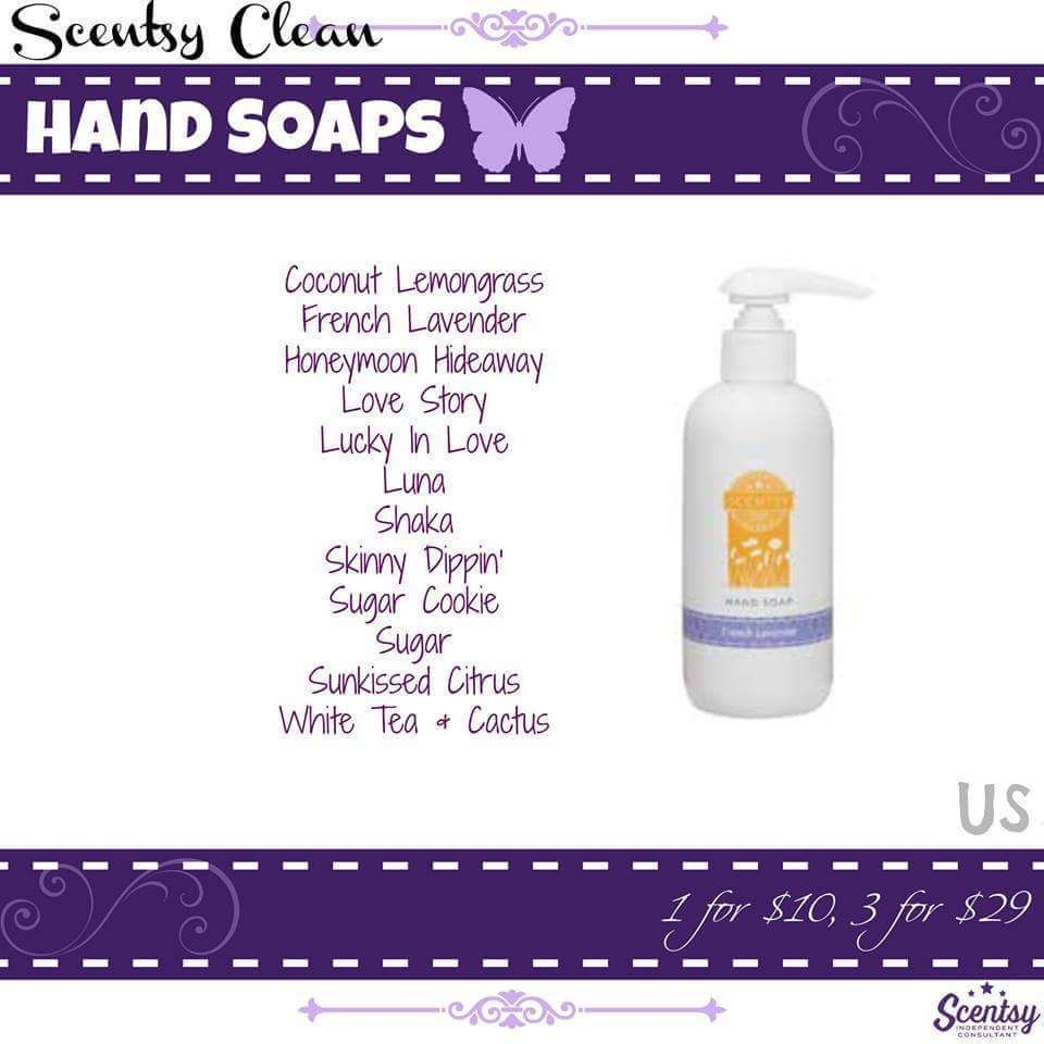 Scentsy Hand Soap Fall Winter 2015 Makesscentswright Scentsy Us