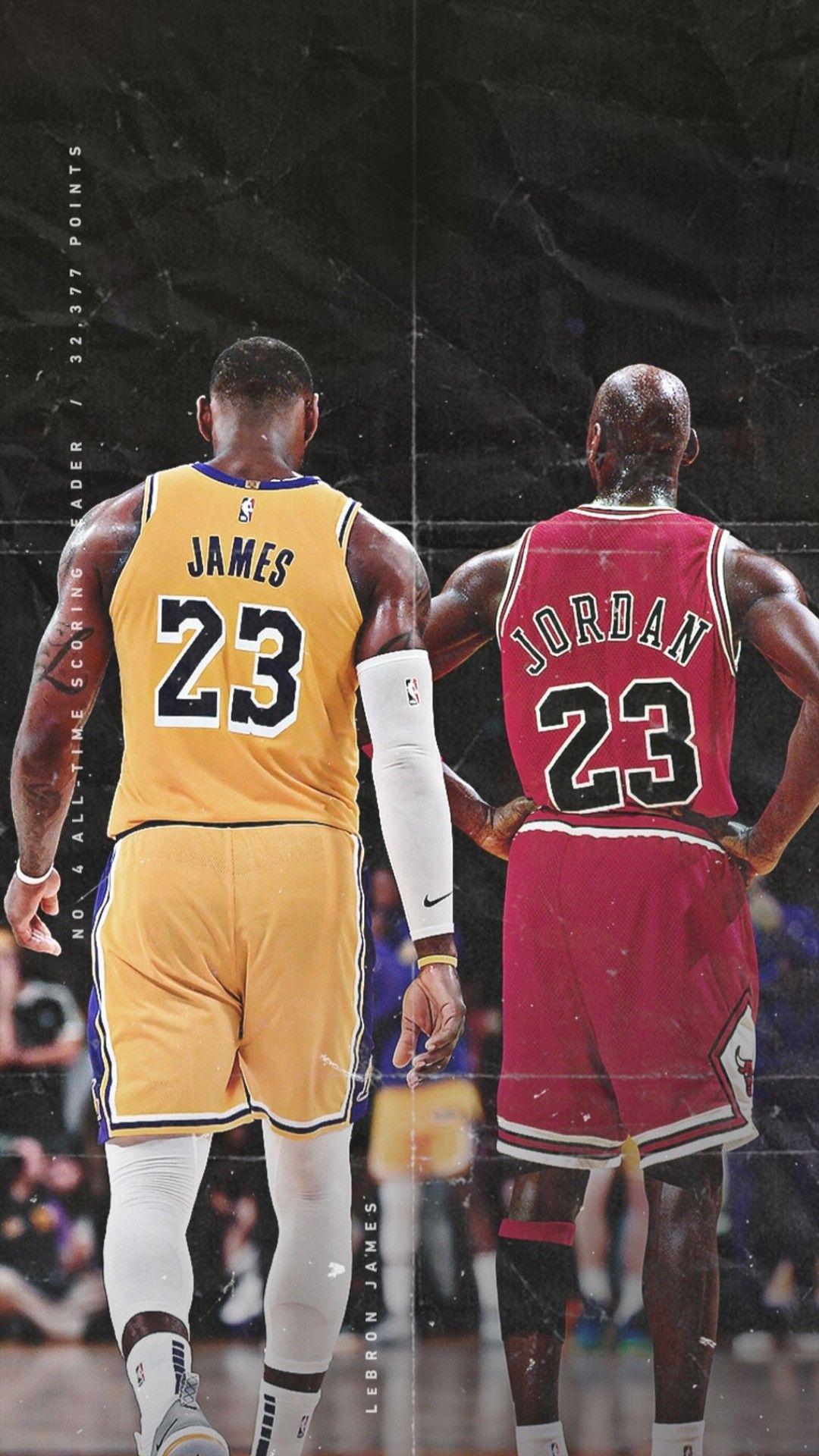 Lebron James And Michael Jordan Wallpaper Nba Lebron James