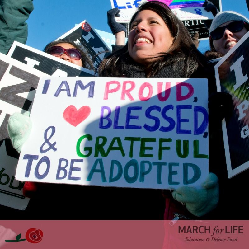 """""""I am proud, blessed, and grateful to be adopted!"""""""