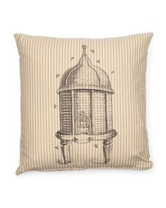 Made In USA 20x20 Bee Hive Pillow
