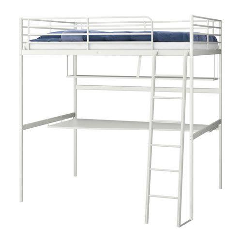 ikea double loft bed 225 - Metal Frame Loft Bed