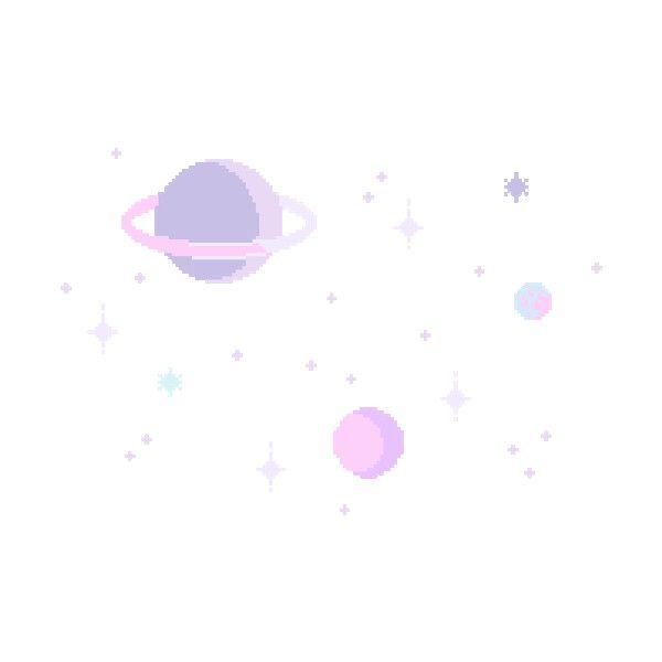 Cute Kawaii Space Stars Pink Pastel Star Planets Planet Pixel Art Pixel Pixels Transparent Pixel Art Planet Drawing Overlays Picsart