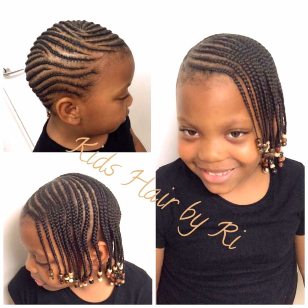 Such A Lovely Client Ta Kai Lemonade Braids With Natural Hair Kidshairbyri In 2020 Kids Hairstyles Natural Hair Braids Natural Hair Styles