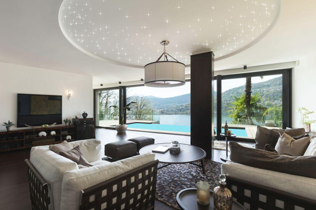Led Sternenhimmel im Wohnzimmer. Bausatz von Pix-Light.de ...