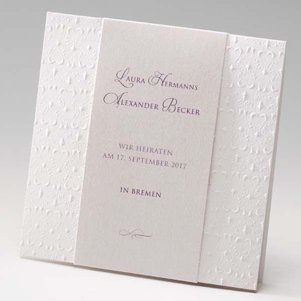 Einladungskarten Hochzeit Mit Druck #15: Einladungskarte - Viktoria - Sweetwedding - Hochzeitskarten, Druck,  Hochzeitsdekoration, Hochzeitsalben, Gastgeschenke,
