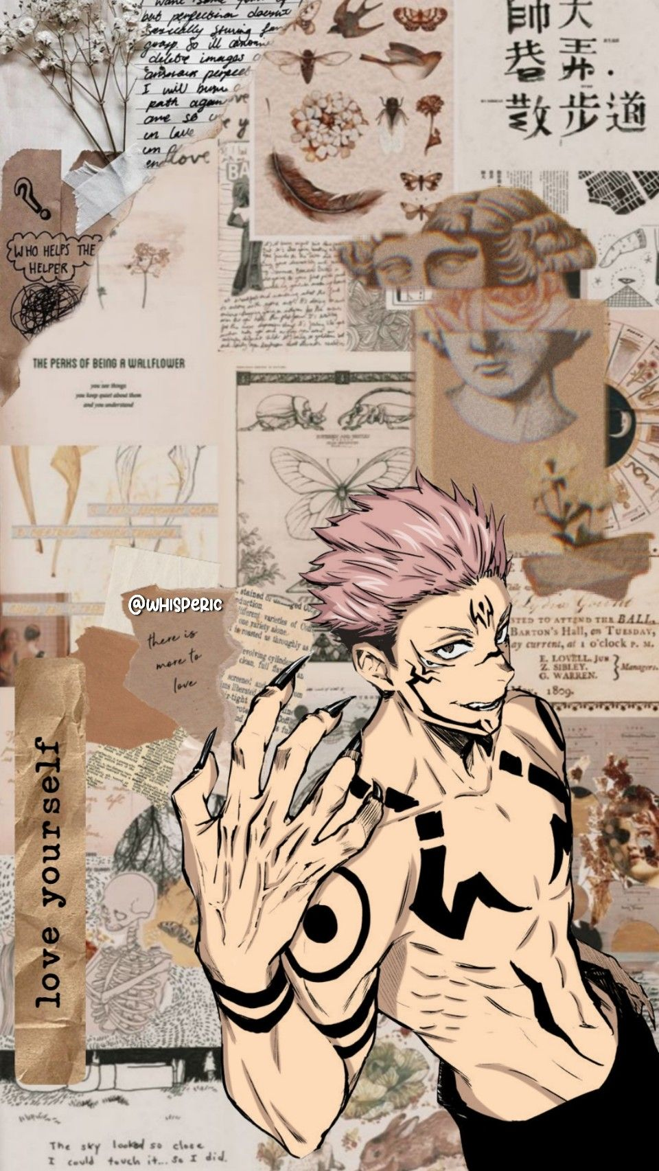 Ryomen Sukuna Lock Screen/Wallpaper