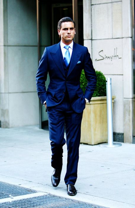 Say what you will about Scott Disick, the man can dress ...