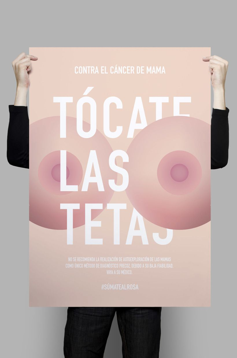 """Contra el cáncer de mama > Campaña"""". Un proyecto de sarathemovie ..."""
