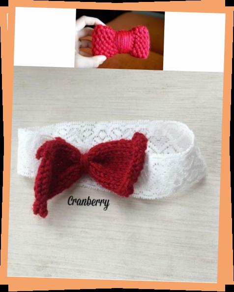Photo of Hallo Kitty Loom Knit Bow
