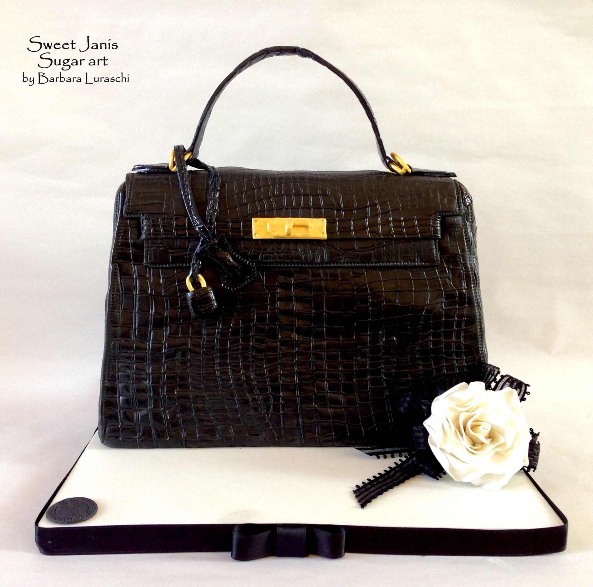 Love It Handbag Cakes Hermes Kelly Bag Bag Cake