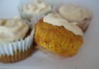 carrot cake muffins  almond flour