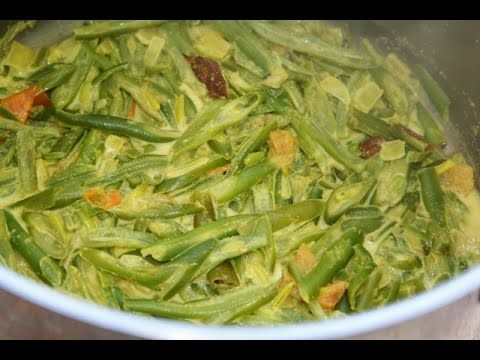 Sri lankan beans white curry bonchi kirata vegan option sri this is traditionally a vegan recipe made with coconut milk but since i have used dairy milkheavy cream i have mentioned that it has the vegan option forumfinder Choice Image