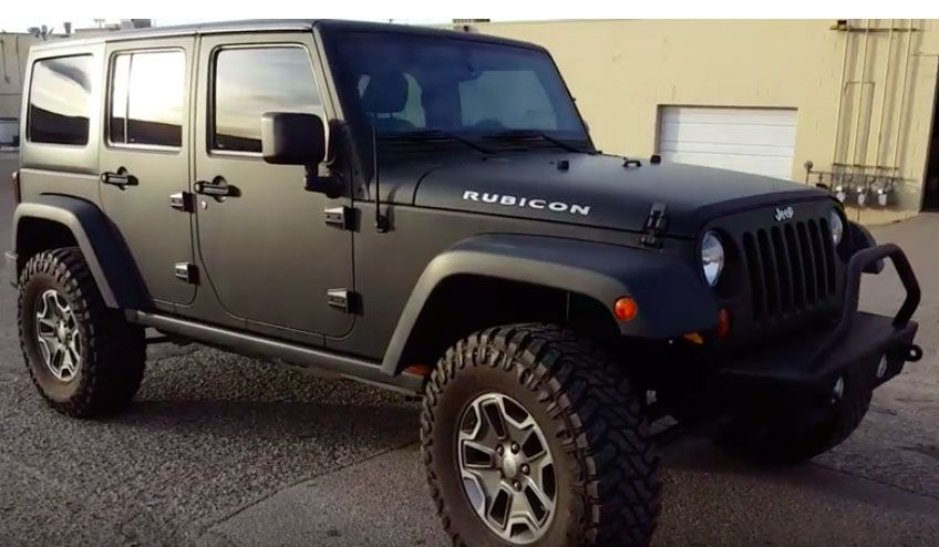 How much does it cost to wrap a jeep wrangler diy or pro