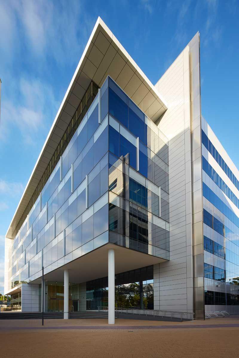 office facades. Nettletontribe \u2013 Rhodes Corporate Park Building F Office Facades H
