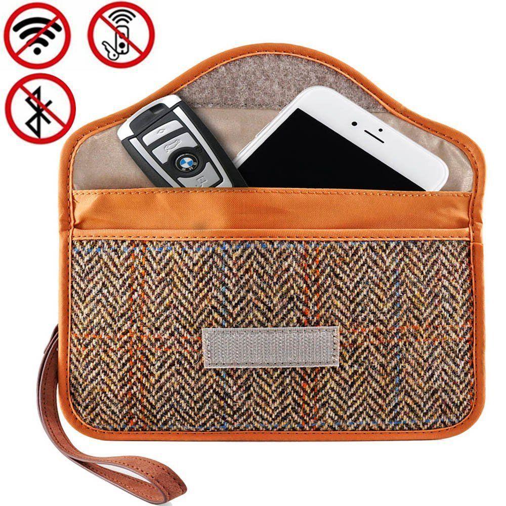 Faraday bag key fob signal blocker wallet faraday cage