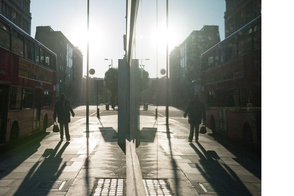 From a series of London street photographs.  Henrik Knudsen